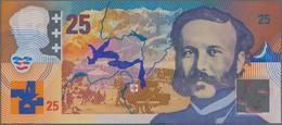 Testbanknoten: Specimen Test Banknote 25 Guardian Designed By Roger Pfund Geneva For Innovia Films A - Specimen