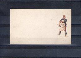 Petite Image. 120x67mm. Dentiste Militaire - Vieux Papiers