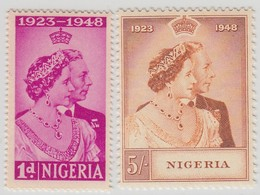 NIGERIA  1948 RSW  MNH  SET SG 62/63 SUPERB STAMPS - Nigeria (...-1960)