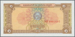 Cambodia / Kambodscha: 1956/2007 (ca.), Ex Pick 4-58, Quantity Lot With 2695 Banknotes In Good To Mi - Cambodia