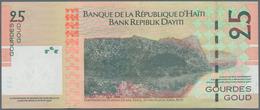 Haiti: Huge Lot With 960 Banknotes Containing 150x 1 Gourde P.259, 60x 2 Gourdes P.260, 50x 5 Gourde - Haïti