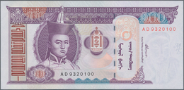 Mongolia / Mongolei: Giant Lot With 6000 Banknotes, Comprising 700x 10 Mongo, 700x 20 Mongo, 700x 50 - Mongolia
