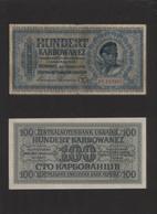 Ukraina / Ukraine: Lot Von 88 Scheinen: Um 1918 11 Scheine Und Bond Certificates 2-1000 Hryven, 24 S - Ucrania