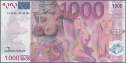 Africa / Afrika: Collectors Book With 134 Banknotes And 8 Promotional Notes From Zambia, Zimbabwe An - Banknotes