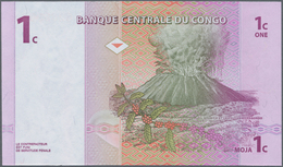 Africa / Afrika: Giant Lot With 2270 Banknotes Containing Congo 400x 1 Centime P.80, Ethiopia 170x 1 - Banknotes