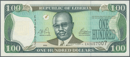Africa / Afrika: Collectors Book With 81 Banknotes From Kenya, Lesotho, Libya And Liberia With Many - Banknotes