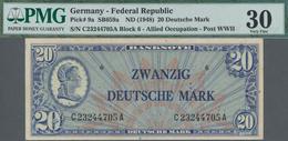 Deutschland - Bank Deutscher Länder + Bundesrepublik Deutschland: 20 DM 1948, Ro.246a, Leicht Flecki - [ 7] 1949-… : RFA - Rep. Fed. De Alemania