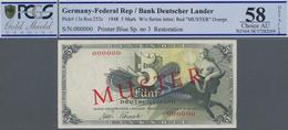 Deutschland - Bank Deutscher Länder + Bundesrepublik Deutschland: Bank Deutscher Länder 5 DM 1948 MU - [ 7] 1949-… : RFA - Rep. Fed. De Alemania