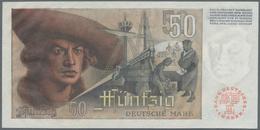 """Deutschland - Bank Deutscher Länder + Bundesrepublik Deutschland: 50 DM 1948 """"Franzosenschein"""", Ro.2 - [ 7] 1949-… : RFA - Rep. Fed. De Alemania"""