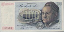 Deutschland - Bank Deutscher Länder + Bundesrepublik Deutschland: 100 DM 1948, Ro.256, Sehr Saubere, - [ 7] 1949-… : RFA - Rep. Fed. De Alemania