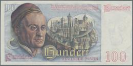 """Deutschland - Bank Deutscher Länder + Bundesrepublik Deutschland: 100 DM 1948 """"Franzosenschein"""", Ro. - [ 7] 1949-… : RFA - Rep. Fed. De Alemania"""