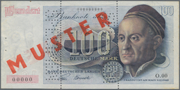 """Deutschland - Bank Deutscher Länder + Bundesrepublik Deutschland: 100 DM 1948 """"Franzosenschein"""" MUST - [ 7] 1949-… : RFA - Rep. Fed. De Alemania"""