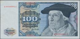 Deutschland - Bank Deutscher Länder + Bundesrepublik Deutschland: 100 DM 1970, Ro.273a Mit Sehr Selt - [ 7] 1949-… : RFA - Rep. Fed. De Alemania