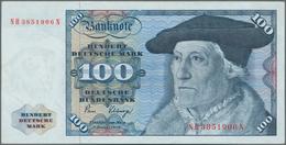 Deutschland - Bank Deutscher Länder + Bundesrepublik Deutschland: 100 DM 1980 Ohne Copyright, Ro.284 - [ 7] 1949-… : RFA - Rep. Fed. De Alemania