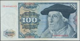 Deutschland - Bank Deutscher Länder + Bundesrepublik Deutschland: 100 DM 1980 Ohne Copyright, Ersatz - [ 7] 1949-… : RFA - Rep. Fed. De Alemania