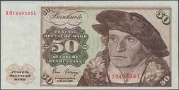 Deutschland - Bank Deutscher Länder + Bundesrepublik Deutschland: 50 DM 1980, Ro.288a Fehldruck, Dru - [ 7] 1949-… : RFA - Rep. Fed. De Alemania