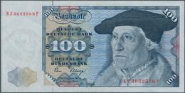 Deutschland - Bank Deutscher Länder + Bundesrepublik Deutschland: 100 DM 1980, Ro.289a, Fehldruck, U - [ 7] 1949-… : RFA - Rep. Fed. De Alemania