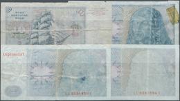 Deutschland - Bank Deutscher Länder + Bundesrepublik Deutschland: Kleines Lot Mit Vier Noten Zu Je 1 - [ 7] 1949-… : RFA - Rep. Fed. De Alemania