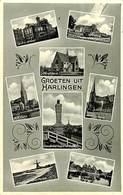 027 574 - CPA - Pays-Bas - Harlingen - Groeten Uit Harlingen - Harlingen