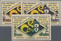 Deutschland - Notgeld - Ehemalige Ostgebiete: Marienburg, Westpreußen, Jungdeutscher Orden, 1, 2 Mar - Deutschland