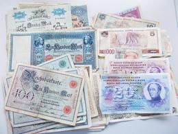 Deutschland - Deutsches Reich Bis 1945: Kleines Lot 48 Deutsche (Reichsbanknoten Und Länderscheine) - Deutschland