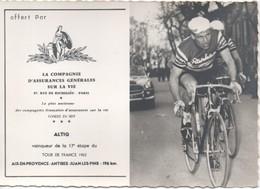 Ruddi Altig Tour De France 1962 - Cyclisme