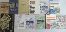 """Literatur: Sehr Schöne Literatursammlung Mit 12 Banknotenkatalogen, Dabei Harry Rosenberg – """"Die Ban - Literatur & Software"""