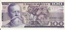 MEXIQUE 100 PESOS 1982 UNC P 74 C - Mexiko