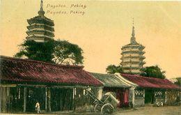 Cpa PEKIN - PEKING - Pagodas - Pagoden - China