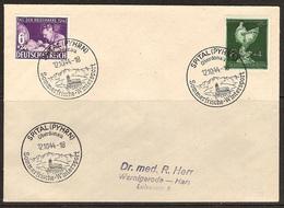 WW II - Briefumschlag Mit Sondermarke + Sonderstempel - Spital (Pyhrn) Oberdonau - Sommerfrische. Wintersport 12/10/1944 - Germany