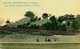 Cpa PEKIN - PEKING - Part Of The Imperial Garden's - Aus Dem Kaiserlichen Garten - China