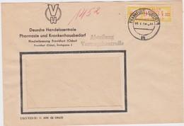 DDR Dienst B ZKD Mi 17 K Bf Frankfurt Oder 1958 - Service