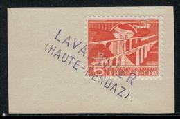 Suisse // Schweiz // Non Classée // Valais //  Oblitération Valaisanne Sur Fragment ( Lavanthier Haute-Nendaz) - Schweiz