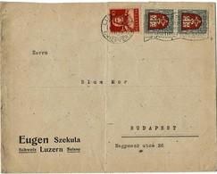 1920 , PJ, Portogerecht Nach Ungarn, RR, Früh! , A3837 - Pro Juventute