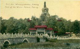 Cpa PEKIN - PEKING - Part Of The Winter Palace - Teil Des Winterpalastes - China