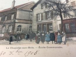 LA CHAPELLE AUX BOIS. Ecole Communale - Sonstige Gemeinden