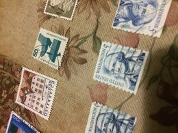 USA PRESIDENTI AZZURRO 1 VALORE 1 VALORE - Briefmarken