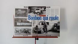 Ancienne Coupure De Presse Automobile Camions Des Bonbons Haribo - Camions
