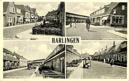 027 586 - CPA - Pays-Bas - Harlingen - Multi-vues - Harlingen