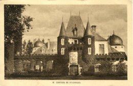 CPA -  SAINT-CIRGUES - LE CHATEAU (IMPECABLE) - France