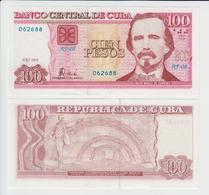 CUBA 100 Pesos P 129 D 2008 UNC - Cuba