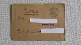 Feldpostbrief 1945 An Absender Zurück Gefallen Für GD Mit Inhalt Fliegerhorst Feldpost Brief - 1939-45