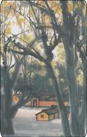 Taiwan Chip Phonecard Mountain Tree Wald - Taiwan (Formosa)