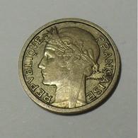 1938 - France - 50 CENTIMES, Morlon, Cupro-aluminium, KM 894.1, Gad 423 - G. 50 Centimes