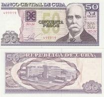 CUBA 50 Pesos P 123 K 2016 UNC - Cuba