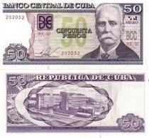 CUBA 50 Pesos P 123 H 2013 UNC - Cuba
