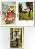 Calendrier/Agenda Miniature. Uccle. Maison Samyn. 1953/60/61. Lot De 3 Pièces. - Calendriers