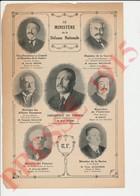 Presse 1915 Malvy (Louis) Ribot Alexandre Millerand René Viviani Victor Augagneur Théophile Delcassé 223CH23 - Vieux Papiers
