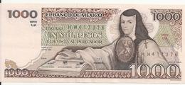 MEXIQUE 1000 PESOS 1983 AUNC P 80 A - Mexiko