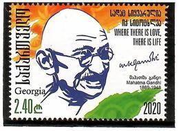 Georgia 2020 .  Mahatma Gandhi . 1v:2.40 - Georgië